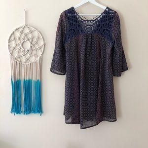 Boho dress size M.